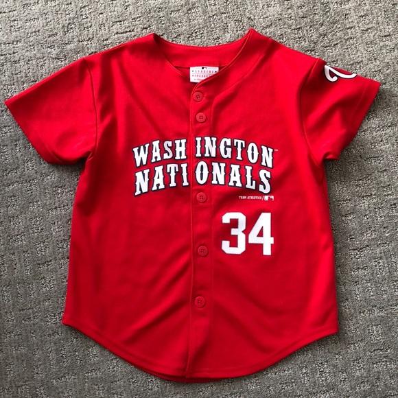 55f0f8aeef3 Washington Nationals Kids Bryce Harper Jersey